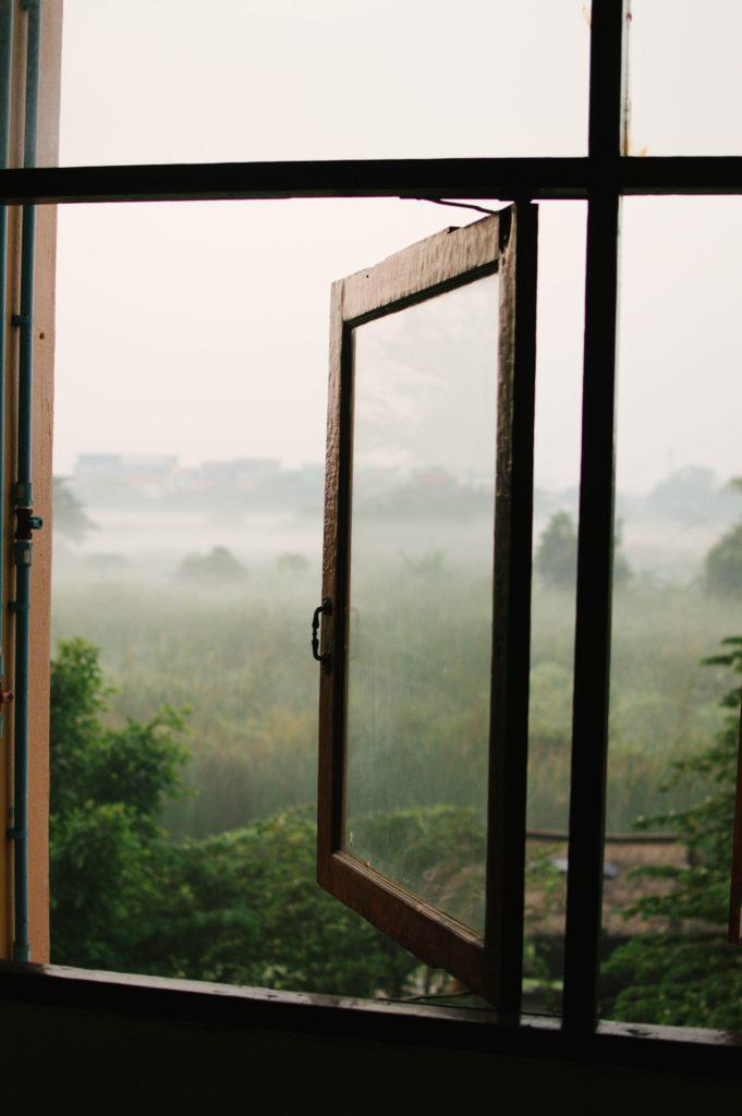 apertura ventana